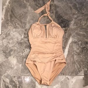 NWT Kenneth Cole One Piece Swimsuit Sz M